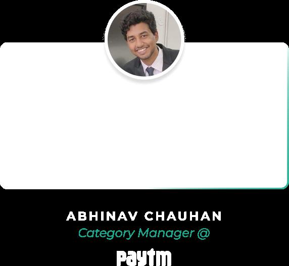 Eduolio Home Page Testimonial Abhinav Chauhan